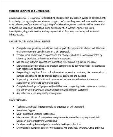 Software Support Engineer Job Description Top 10 Software Support - software developer job description