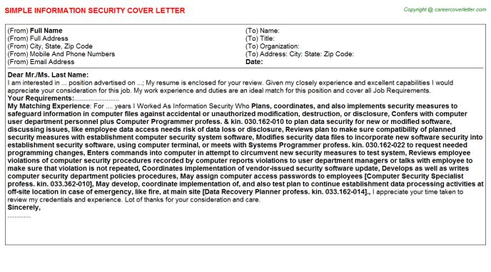 Mcroberts Security Officer Cover Letter Node494cvresumecloud