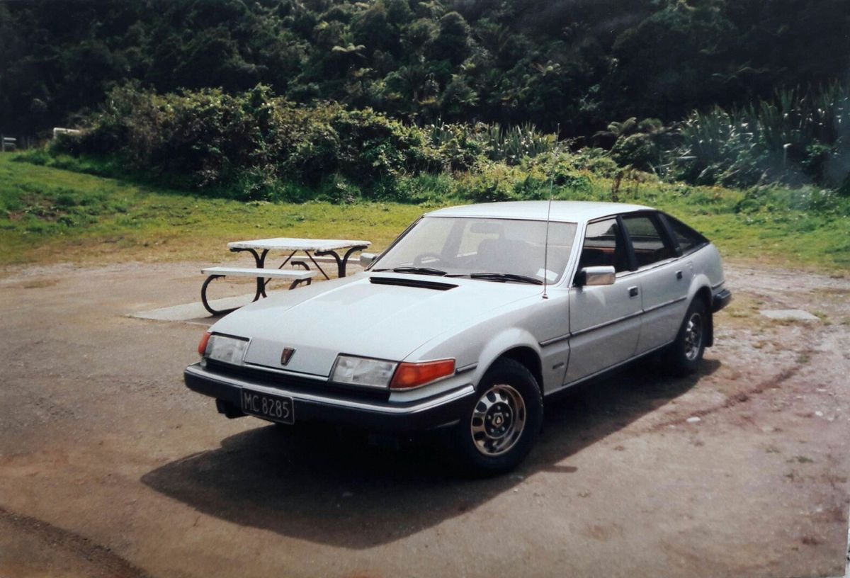 My New Zealand assembled 1983 Rover SD1 2600s in 2000