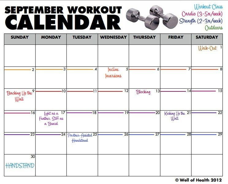 Calendar Template Excel Excel Calendar Template For 2017 And - workout calendar template