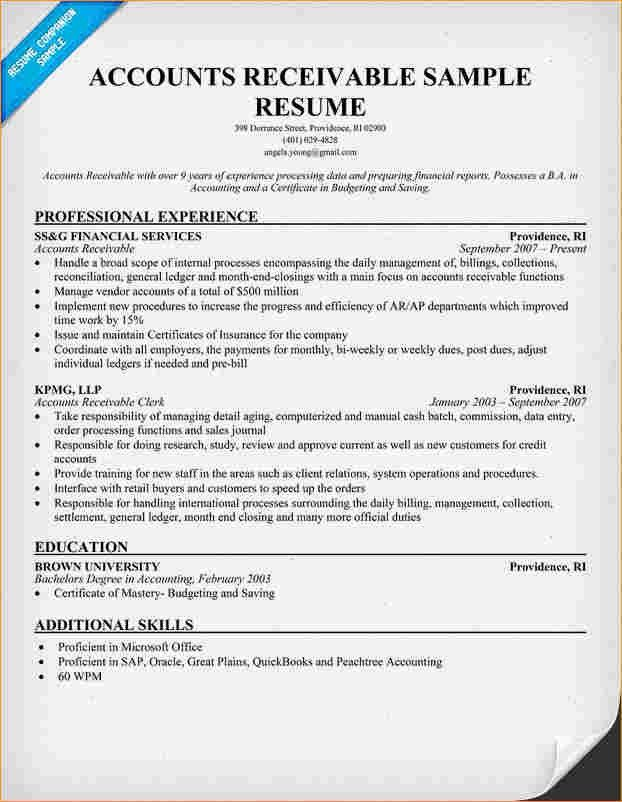 Accounting Assistant Sample Resume Accountant Clerk Resume Junior