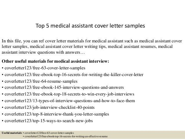 sample of cover letter for medical assistant medical assistant cover letter medical assistant - Cover Letter For Medical Assistant Job