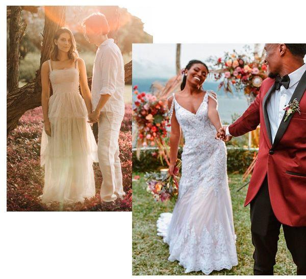 Isabelle A. Colla, Camila Nunes - vestido-de-noiva - noiva - verão - casamento
