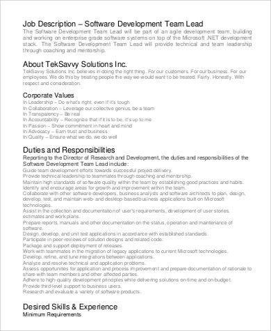 Desktop Engineer Job Description Cisco Customer Support Engineer - software developer job description