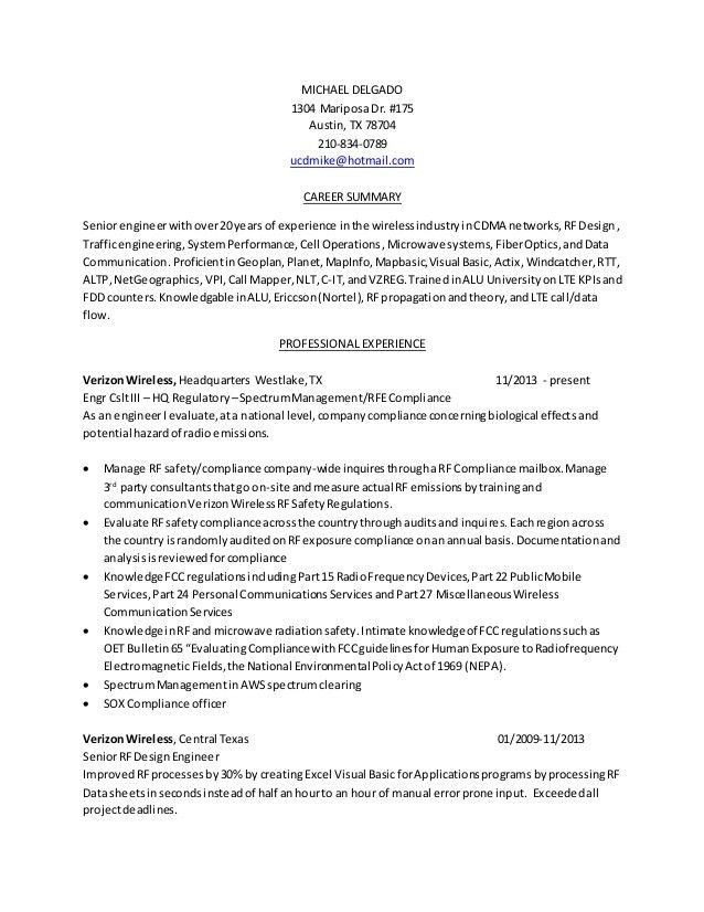 Rf Engineer Resume Sample Top 8 Rf Engineer Resume Samples, Top 8 - senior engineer resume