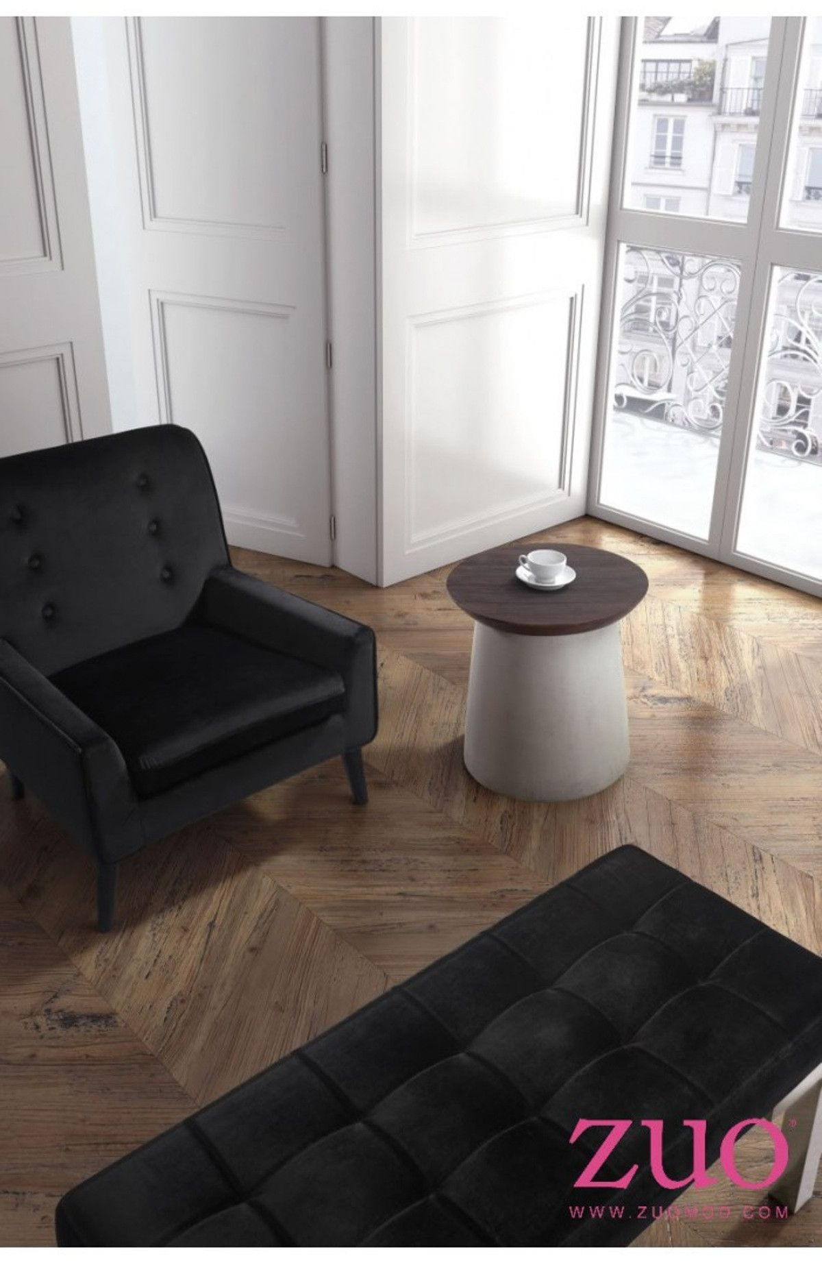 Saved by's Pinterest #henge Image created at 448811919101868167 - Zuo Modern Henge Side Table - 100205