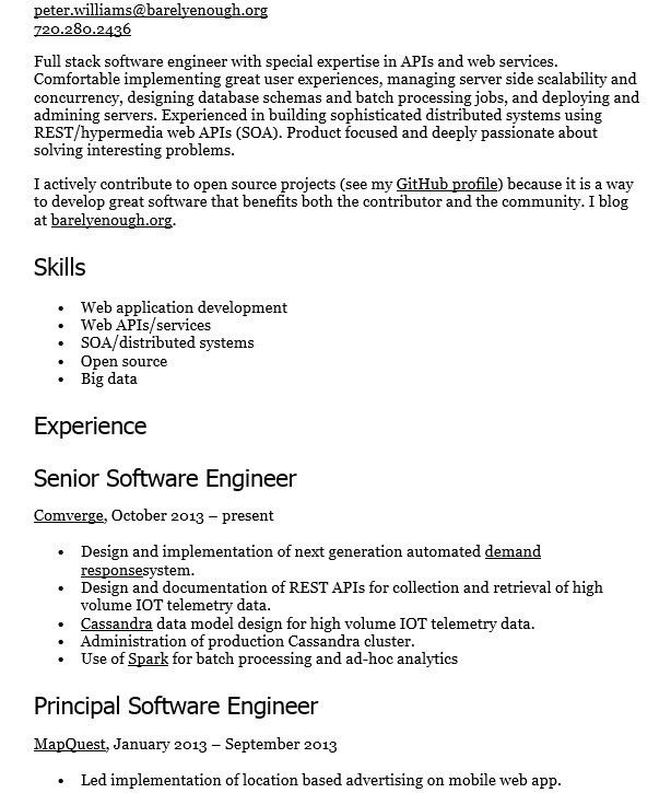 principal architect sample resume cvresumeunicloudpl - Principal Architect Sample Resume