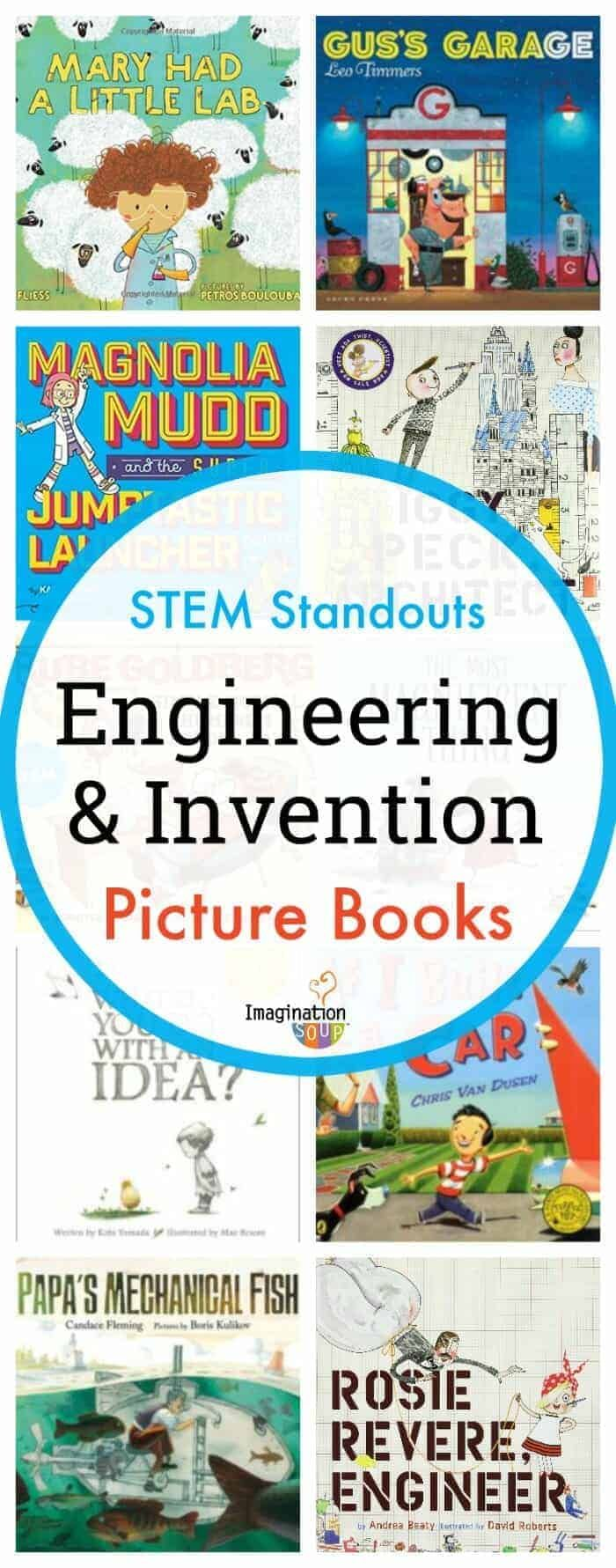 Standout STEM Engineering Picture Books for Kids
