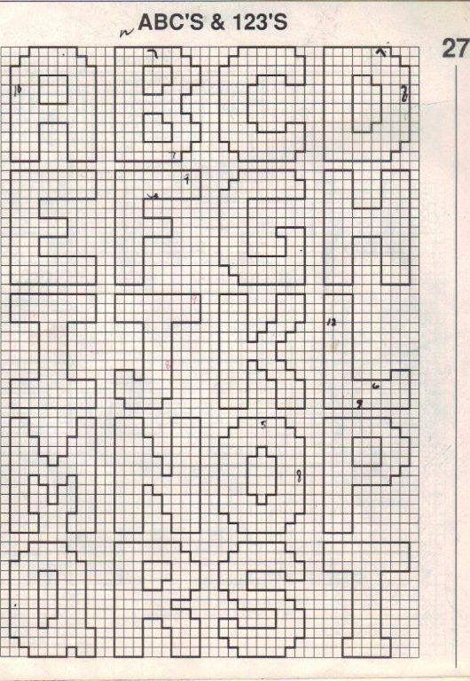 Best 25+ Plastic canvas letters ideas on Pinterest Cursive - abc chart