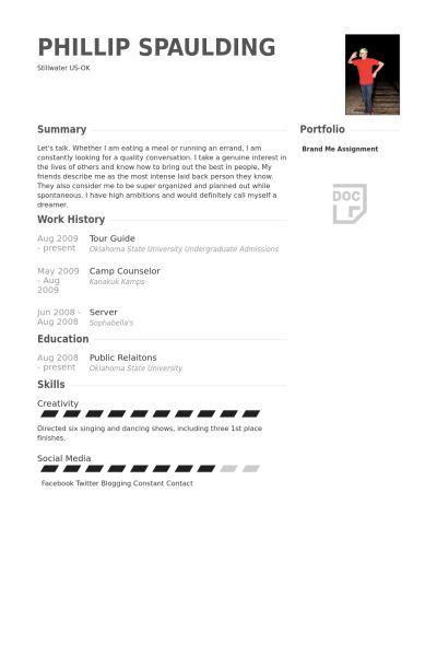 dental receptionist resume tour guide resume academic advisor resume