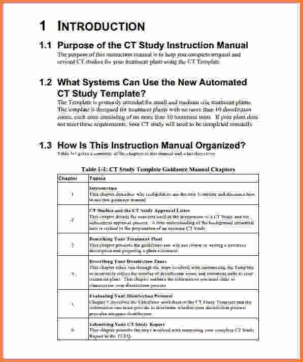 Instruction Manual Template.Work Instruction Template New P0.JPG .  Instruction Booklet Template