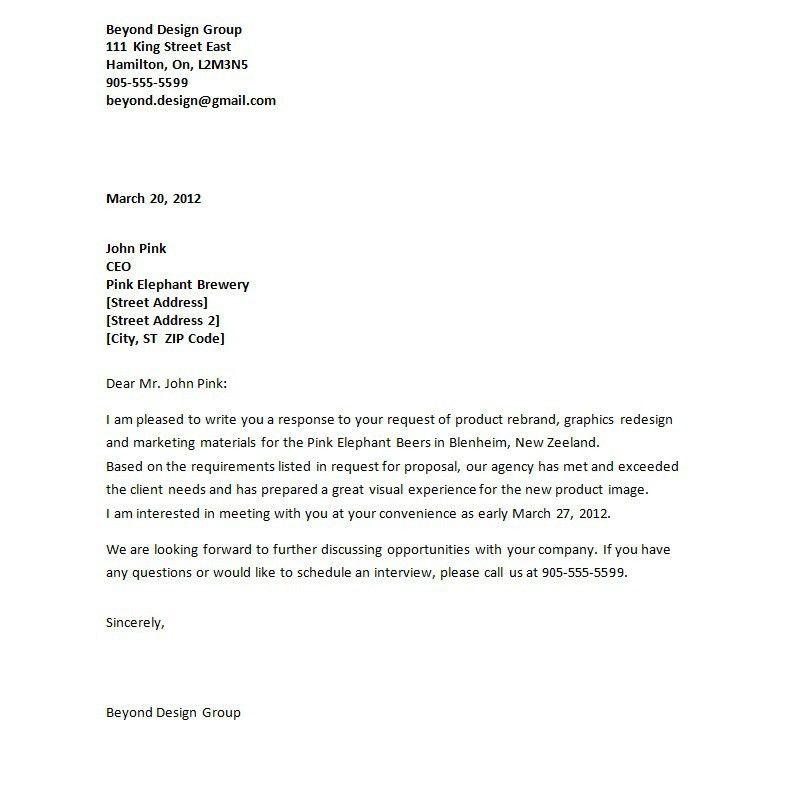 letter of transmittal for proposal | node2003-cvresume.paasprovider.com