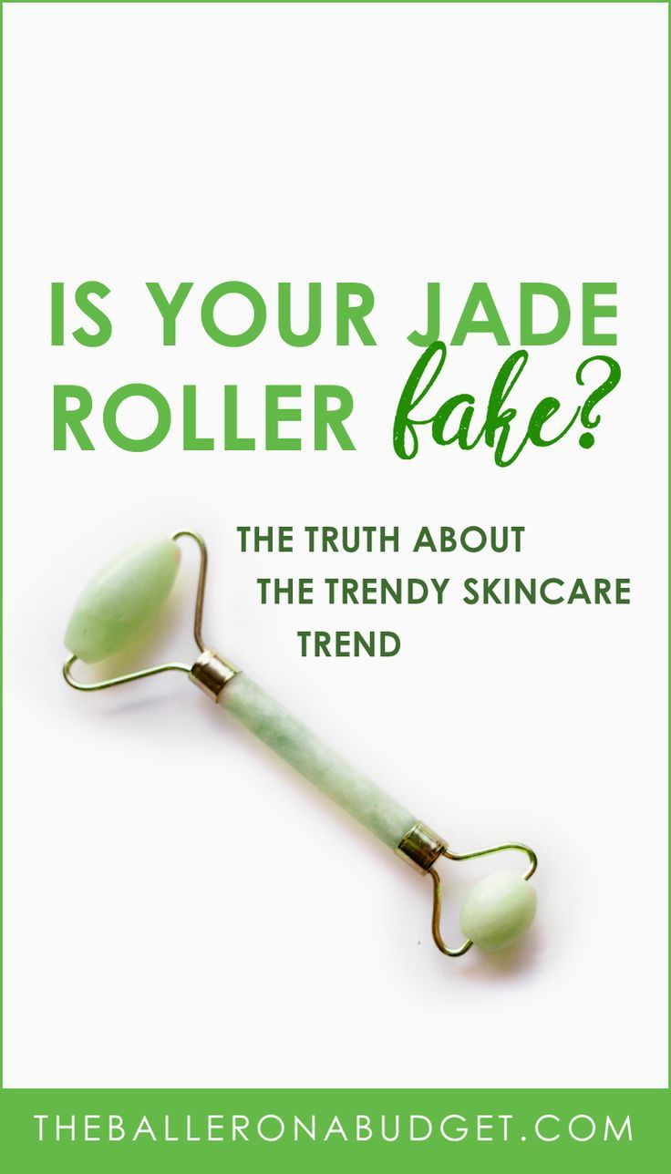 You've seen them everywhere on Instagram. Jade rollers are now affordable to buy – but is yours made of real jade? Learn how to spot a fake and where to buy a real one. – www.theballeronabudget.com