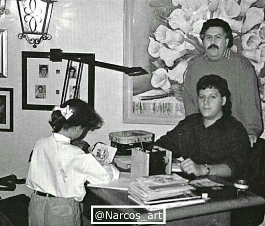 Pablo escobar and wife maria victoria henao cute things for Pablo escobar zitate