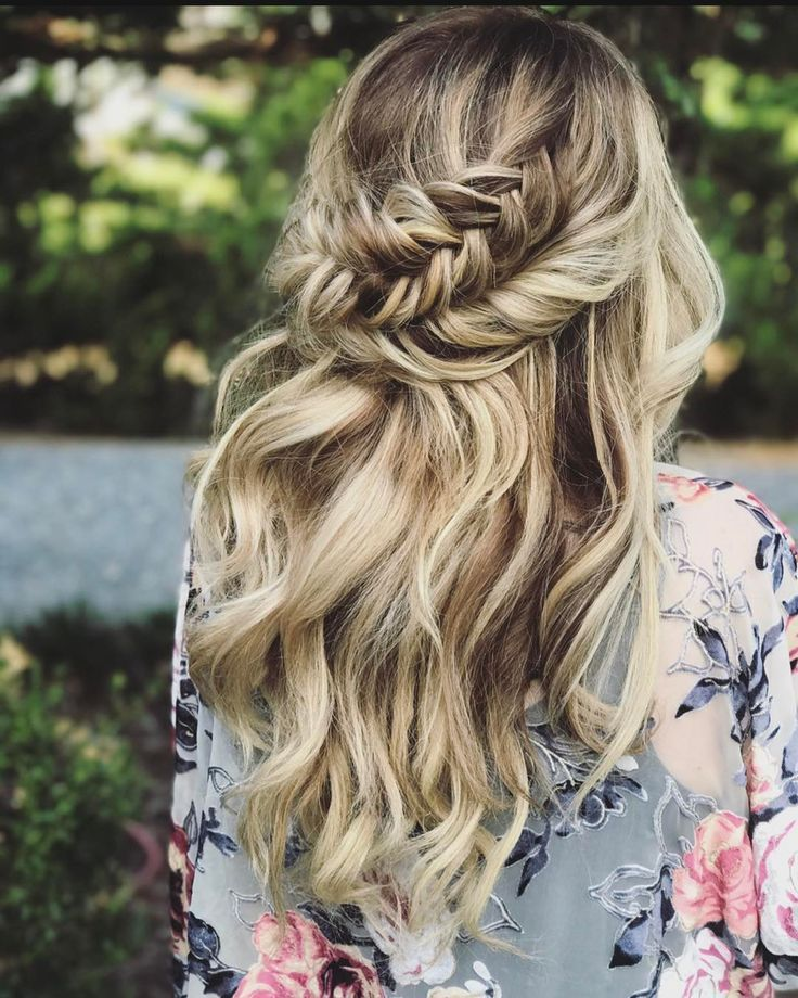 "Beautiful Half Down Half Up Braided Hairstyle with curls<p><a href=""http://www.homeinteriordesign.org/2018/02/short-guide-to-interior-decoration.html"">Short guide to interior decoration</a></p>"