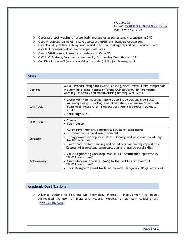cad specialist sample resume env 1198748 resumecloud - Cad Specialist Sample Resume