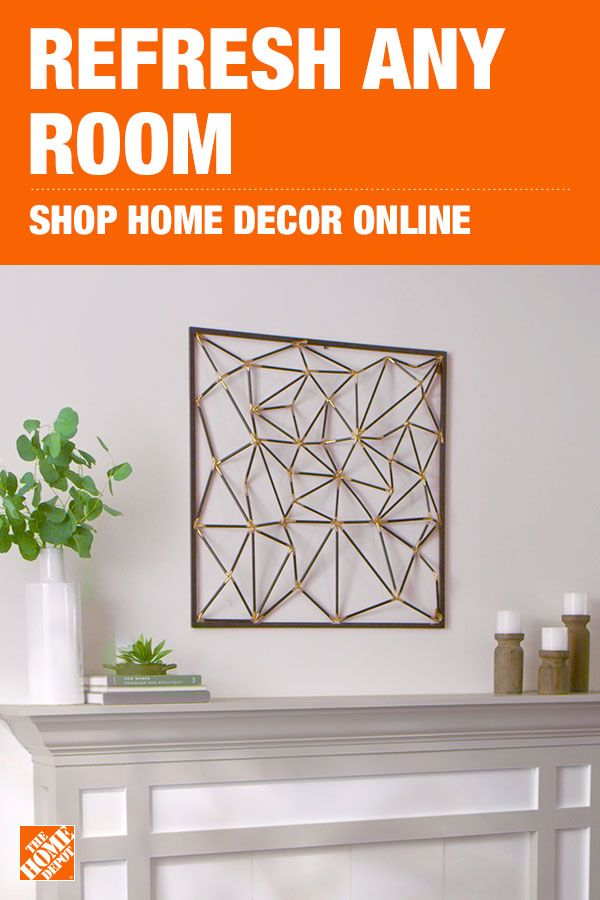 There's more decor to discover on homedepot.com