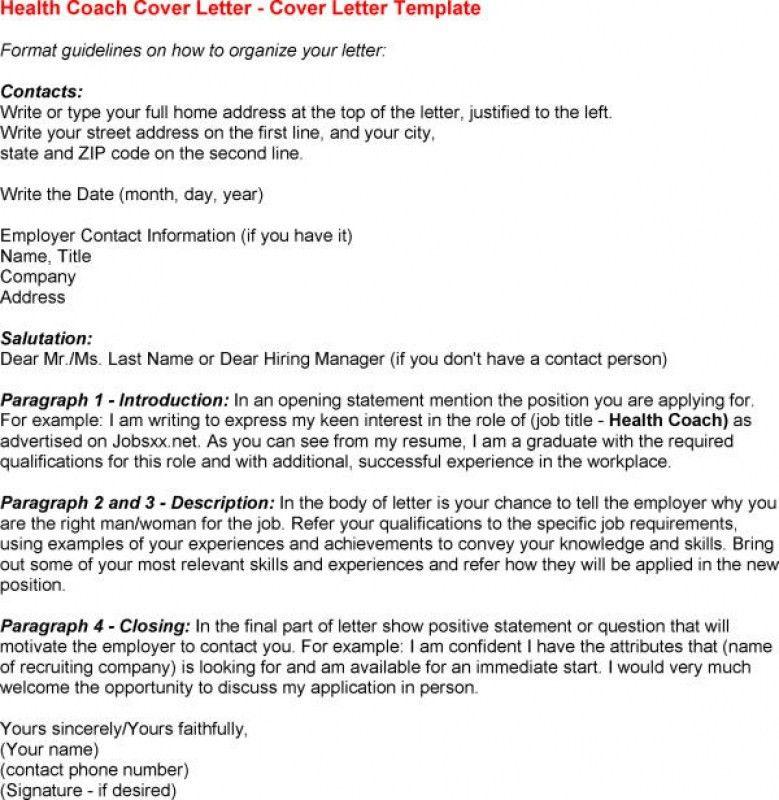 Health Coach Cover Letter Node494 Cvresume Cloud Unie Io