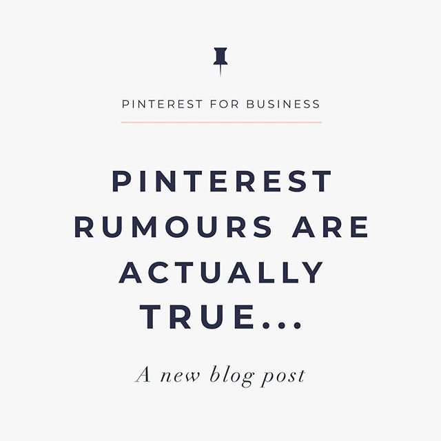 "Pinterest Strategist Marketer on Instagram: ""PINTEREST UPDATES 2018 ⠀⠀ I just wrote a blog post rega"