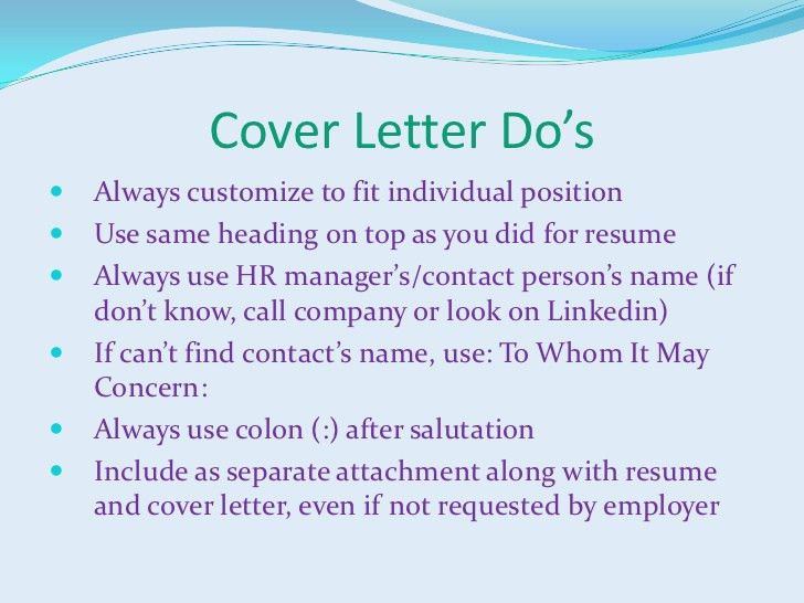 Heading Cover Letter No Name | Cover Letter