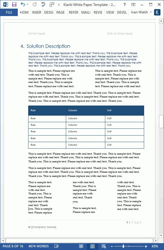 White Paper Example How To Use A Case Study Inside A White Paper - white paper templates