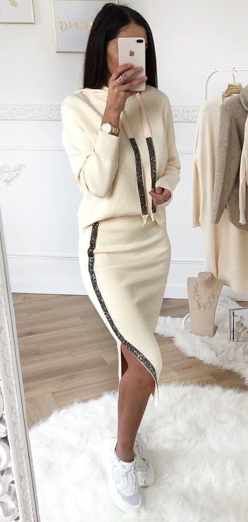 white sweater dress #spring #outfits