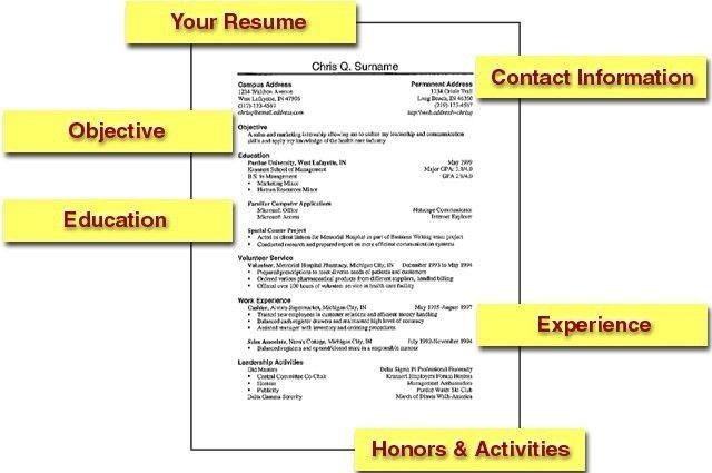 Resume Templates First Job First Job Resume Templates Download