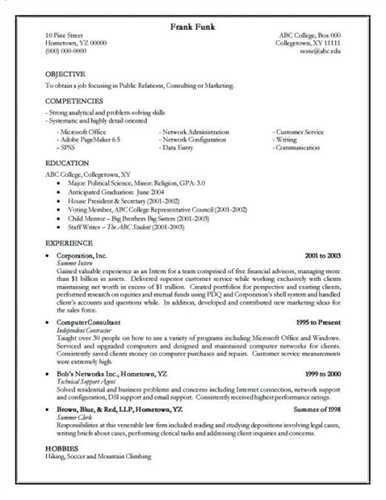 How To Write A Resume Step By Step How To Write A Quick Resume   Guide ...