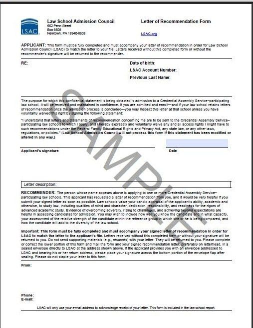 Sample Law School Cover Letter How Not To Write A Cover Letter - law school recommendation letter sample