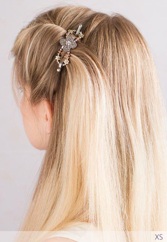 Hairstyles for Long Hair | Hairstyles for medium length hair | bun hairstyle | fall hair | fall hairstyle | Lilla Rose | Flexi Clip | Hair updo | Hair Clip for thick hair | Hair clip for thin hair