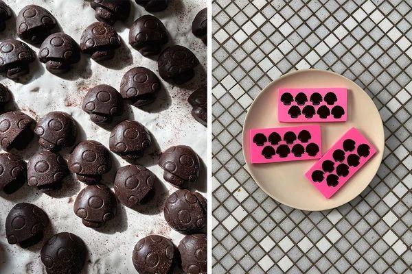 // DIY Raw Cacao + Medicinal Mushroom Chocolates, vegan, gluten-free, 45 minutes, naturally sweetened