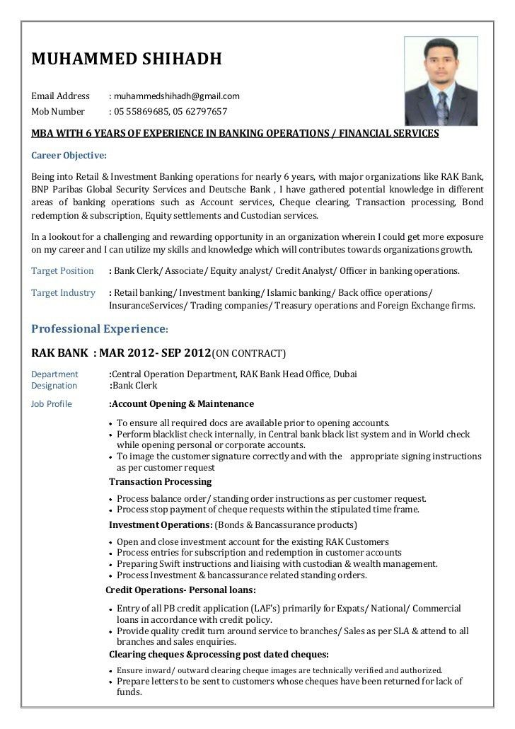 Resume Examples For Banking Jobs Example Investment Banking - investment banking resume template