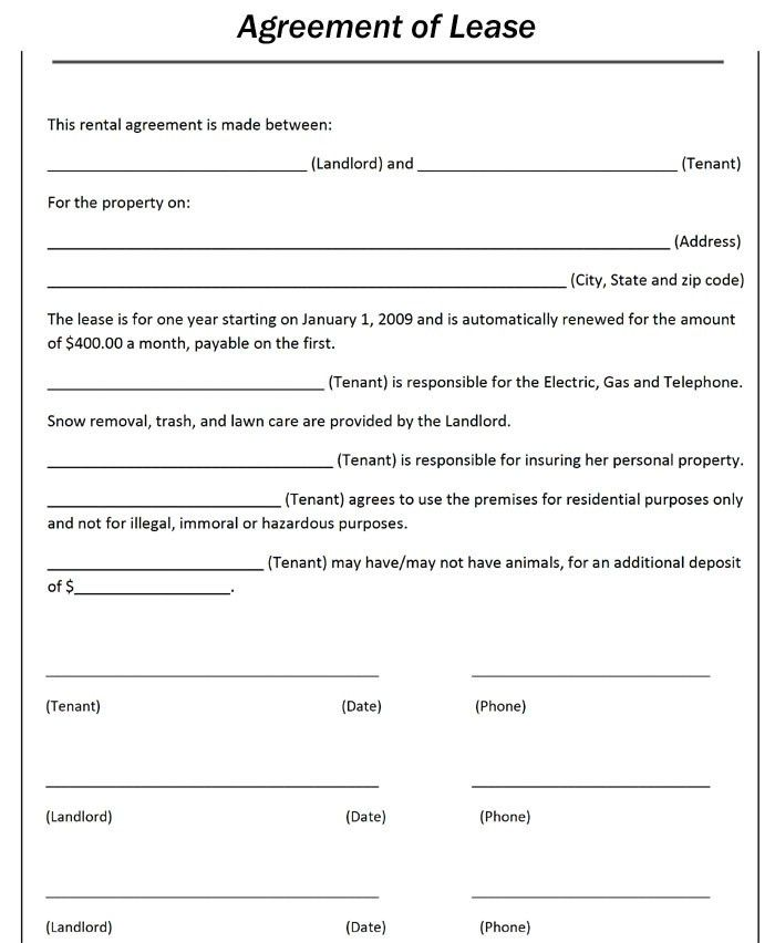 Lease Agreement Copy 10 Best Rental Agreements Images On - sample horse lease agreement template