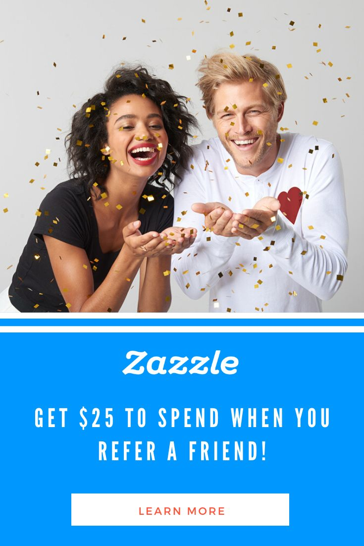 Introducing the Zazzle Refer-A-Friend Program