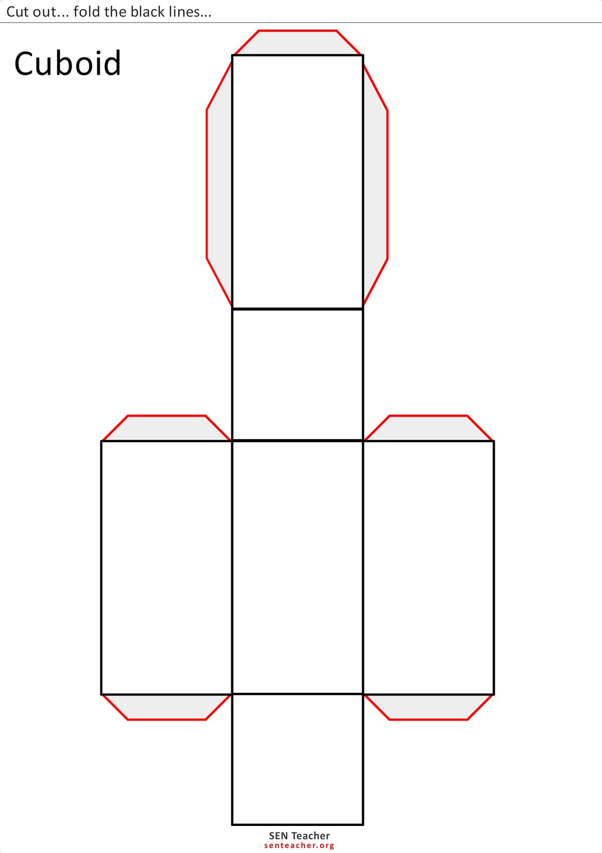 Nteacher Worksheet 12 Netspolyhedra