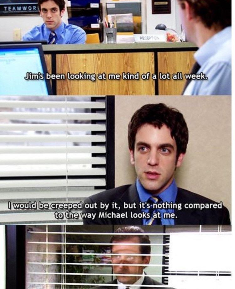 Do you sometimes just wish you could, like, not go to work and watch The Office all day instead? Yeah, us too. #TheOffice #Memes #TVShow #TVSeries
