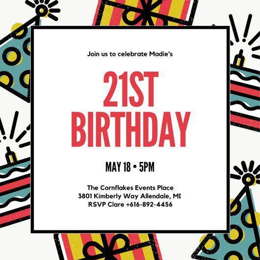 Birthday Invite Template Best 25 Birthday Invitation Templates - free birthday invite template