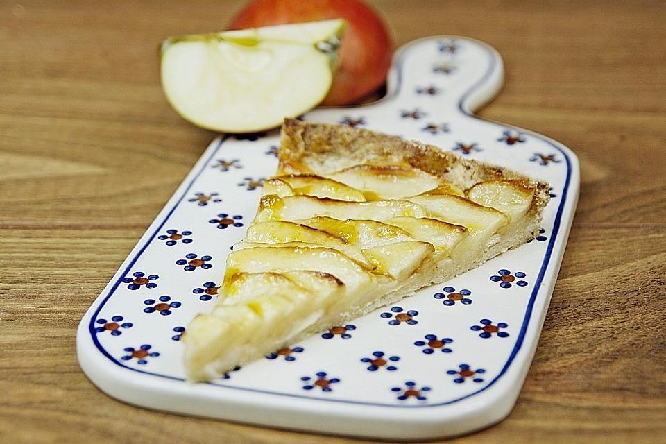 Französische Apfeltarte von dashonigkuchenpferd   Chefkoch