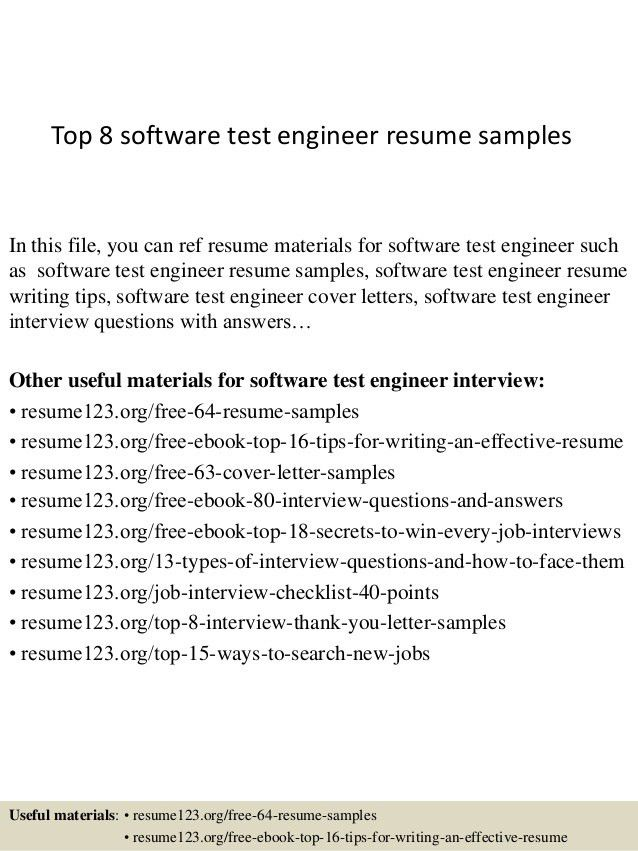 software integration tester cover letter cvresumeunicloudpl - Integrator Cover Letter
