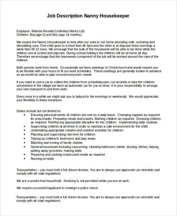 nanny resume babysitting resume template nanny resume example