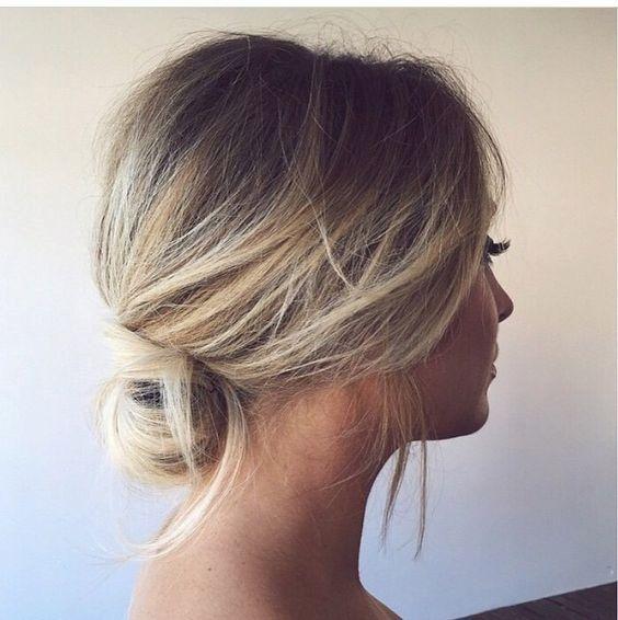 Bridesmaid Hair Natural