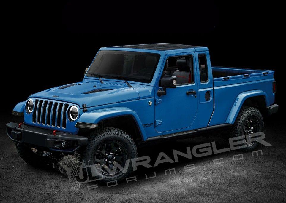 Jt 2020 2 Dr Jeep Wrangler Pickup