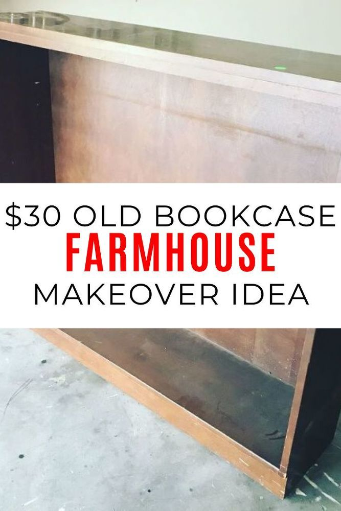 Check out this book shelf redo before and after photos to see this curbside rescue. This upcycle project is perfect if you're decorating on a budget and love DIY. #diy #bookcase #makeover