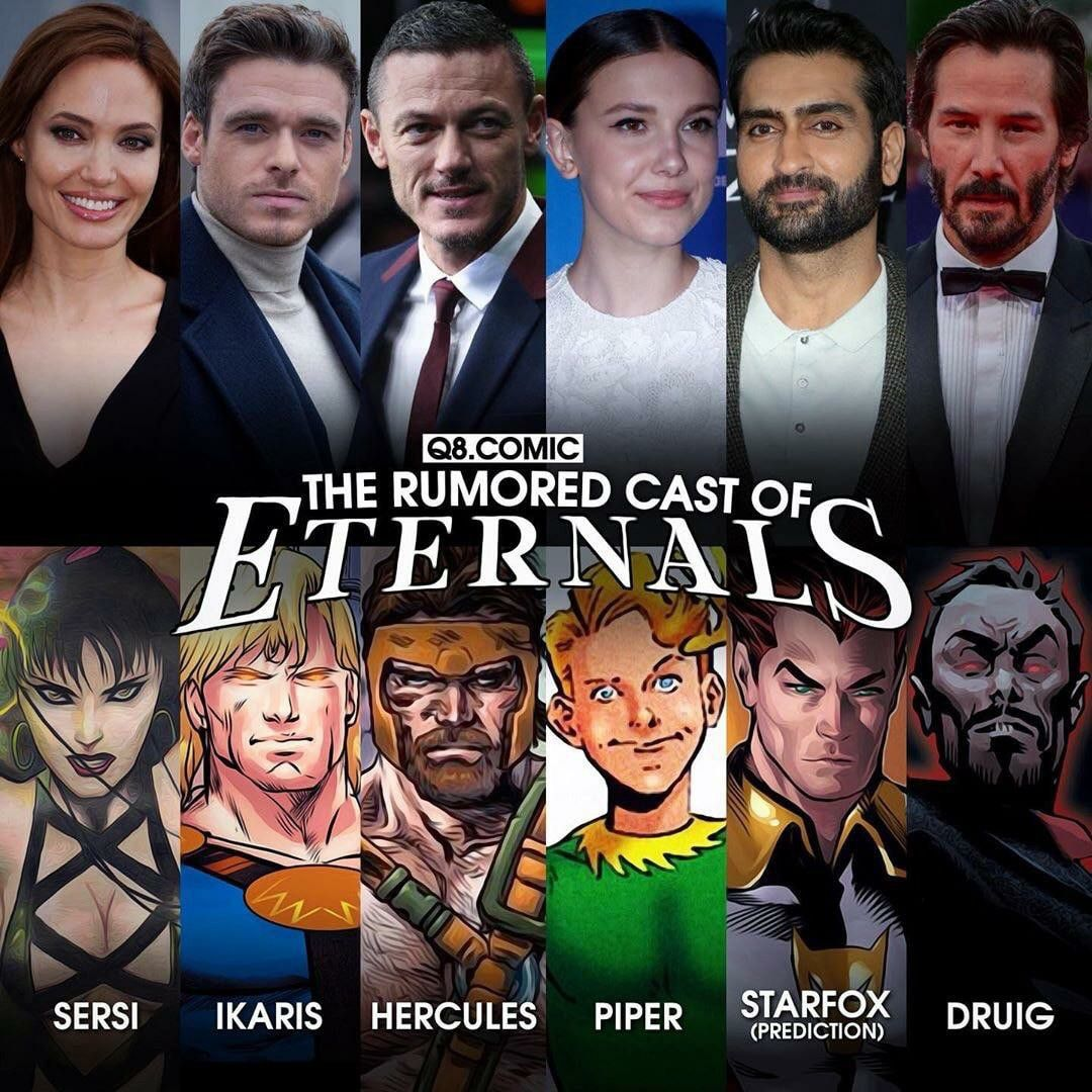 The Eternals Marvel Future Fight Marvel Ultimate Alliance Comics