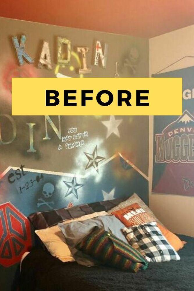 DIY Teen Bedroom Makeover Ideas For Boys