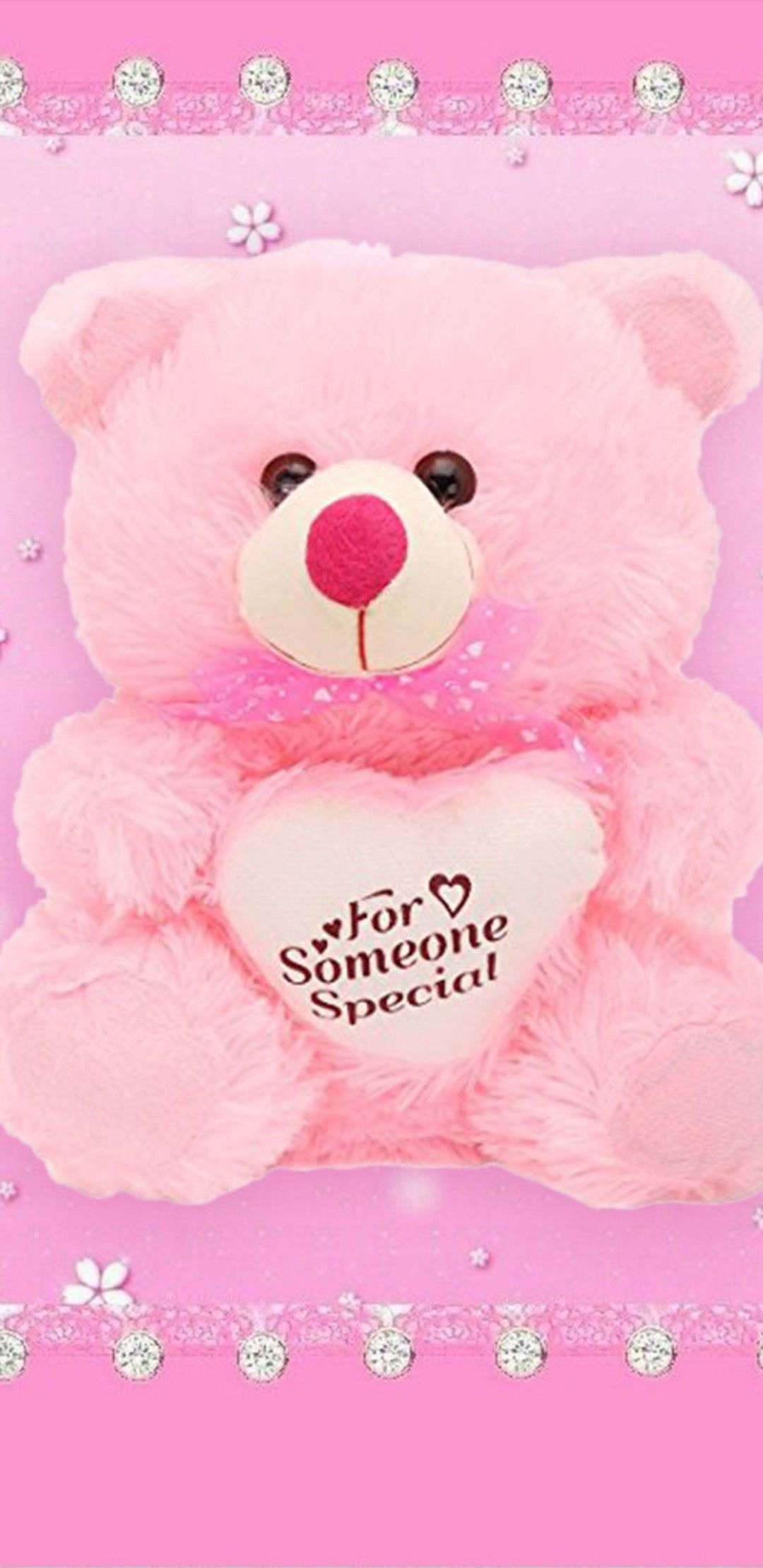 Pin By Kathy Beckwith On Girly Droid Wallpapers Teddy Bear Wallpaper Bear Wallpaper Brat Doll