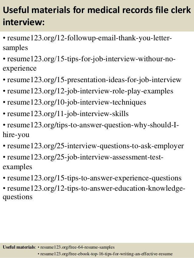 file clerk jobs resume cv cover letter