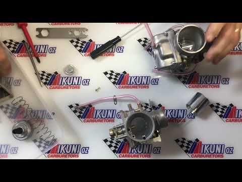 (2) Mikunioz - Mikuni VM Roundslide Carb Tuning - YouTube