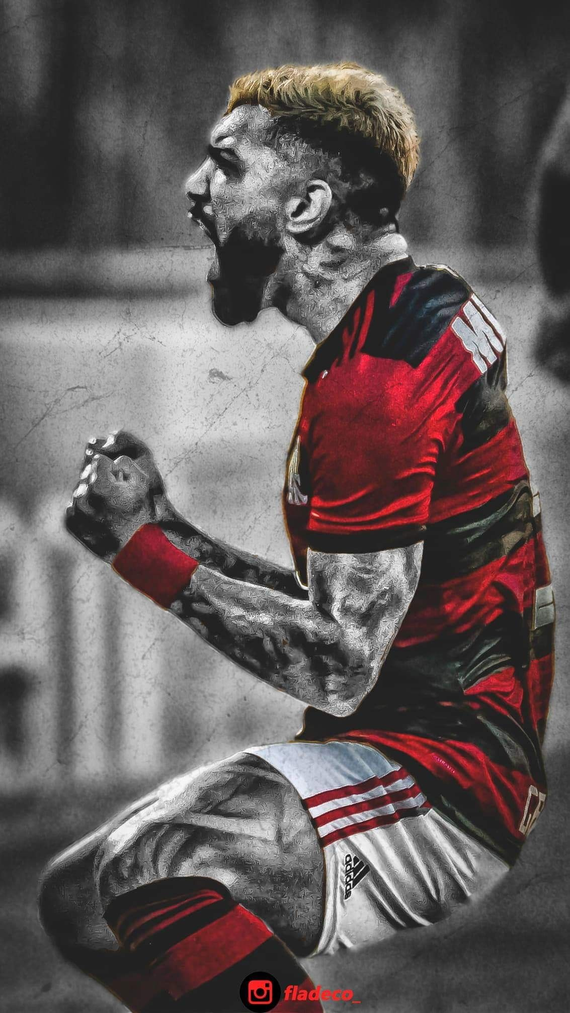 Gabigol Na Raça Flamengo Fladeco Flamengo Wallpaper