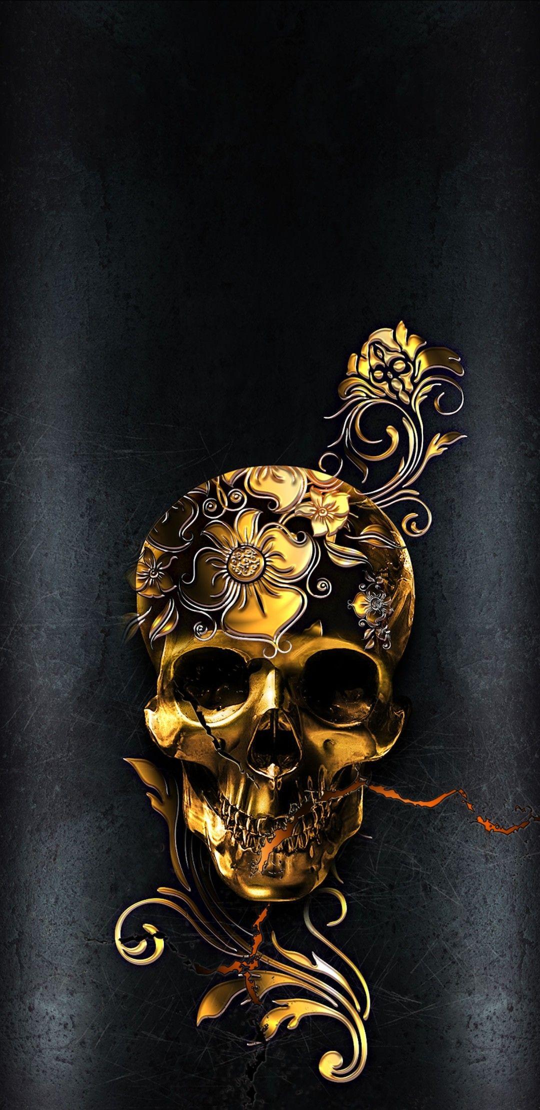 Pin By Tania Jardim On Wallpapers Skull Wallpaper Skull